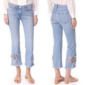 3x1 Freja Elkhorn Bell Bottom Crop Jean